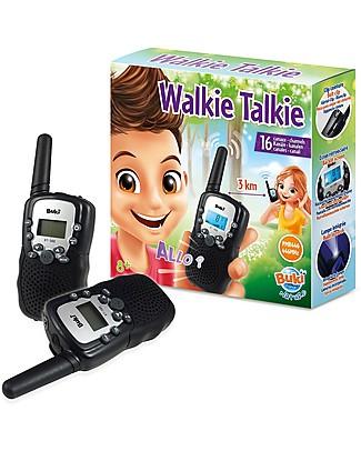 Buki Walkie Talkie - Fino a 3 km di portata! Scienza e Natura
