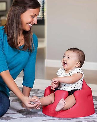 Bumbo  Bumbo Sedile per Bambini con Vassoio - Rosso (dai 3 mesi) Sedie