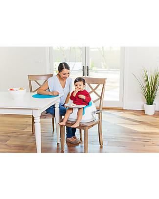 Bumbo Multi Seat, Sedile/Rialzo per Bambini con Vassoio, Blu – Da 6 mesi a 3 anni! Alza Sedia