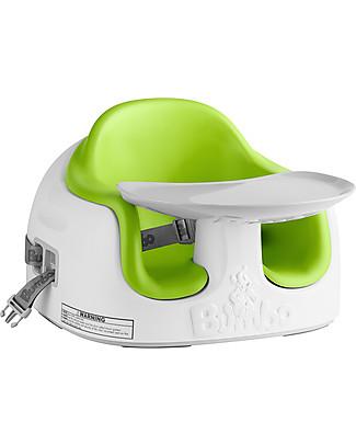 Bumbo Multi Seat, Sedile/Rialzo per Bambini con Vassoio, Verde – Da 6 mesi a 3 anni! null