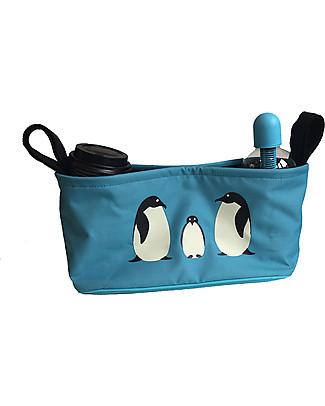 BundleBean Portaoggetti per Passeggino Universale - Pinguini Accessori