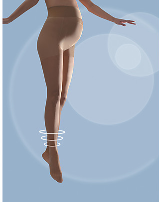 Cache Coeur Activ'Light, Collant Premaman a Compressione, 30 Denari, Nude - Gambe leggere tutto il giorno! Calze