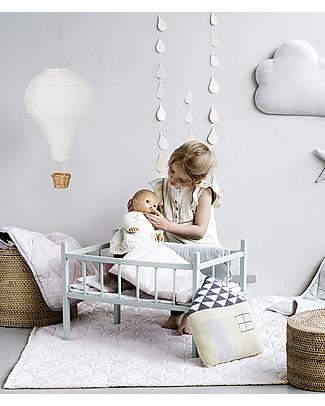 Camcam Copenhagen Lampada Mongolfiera, Grigio con cavetto Rosa – Arriva in una bellissima confezione regalo! Lampade Da Notte