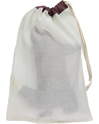 Camomile London Cuscino Mr. Fox, Vinaccia – 13 x 29 cm – Ottimo come idea regalo! Cuscini Arredo