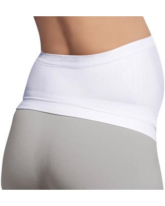 Carriwell Fascia Sostegno Premaman Senza Cuciture - Bianca (allevia il mal di schiena) Fasce Sostegno
