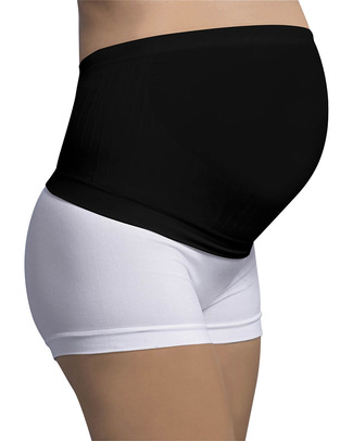 Carriwell Fascia Sostegno Premaman Senza Cuciture - Nera (allevia il mal di schiena) Fasce Sostegno
