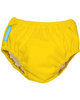 Charlie Banana Costume Contenitivo/Pannolino 2-in-1, Giallo - Lavabile, perfetto per il mare! Costumi Contenitivi
