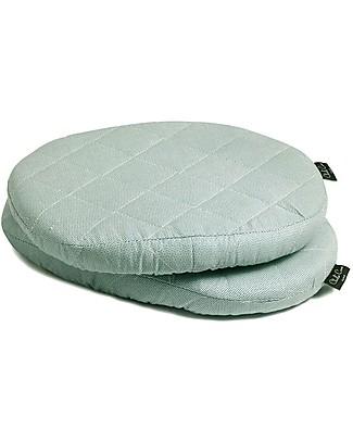 Charlie Crane Cuscini per Seggiolone Evolutivo Tibu, Azzurro –  Set di 2 cuscini, 100% cotone! Seggioloni