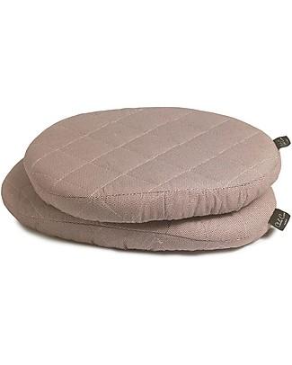 Charlie Crane Cuscini per Seggiolone Evolutivo Tibu, Cioccolato –  Set di 2 cuscini, 100% cotone! Seggioloni
