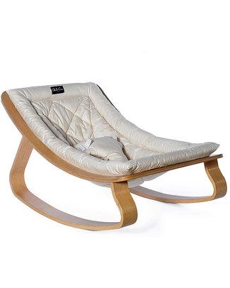 Charlie Crane Sdraietta LEVO in Legno di Faggio - Bianco - Design Senza Tempo & Eco-Friendly! Sdraiette