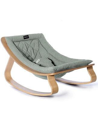 Charlie Crane Sdraietta LEVO in Legno di Faggio - Blu Aruba - Design Senza Tempo & Eco-Friendly! Sdraiette