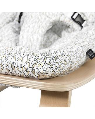 Charlie Crane Sdraietta LEVO in Legno di Faggio - Coniglietti  - Design Senza Tempo & Eco-Friendly! Sdraiette