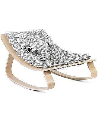 Charlie Crane Sdraietta LEVO in Legno di Faggio - Rombi - Design Senza Tempo & Eco-Friendly! Sdraiette