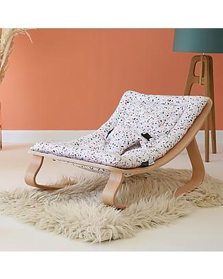 Charlie Crane Sdraietta LEVO in Legno di Faggio, Terrazzo - Design Senza Tempo & Eco-Friendly! Sdraiette