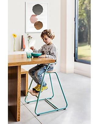 Charlie Crane Seggiolone Evolutivo Tibu, Azzurro – Adatto a bambini da 6 mesi a 8 anni! Seggioloni