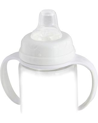 Cherub Baby Adattatore con Beccuccio Sippy per Biberon Wide-Neck - Universale! Biberon In Vetro