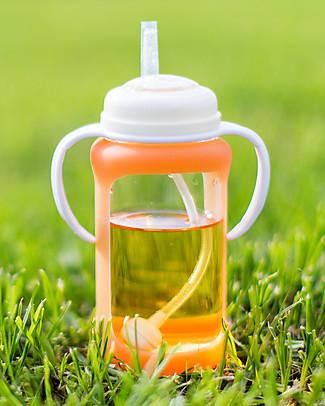 Cherub Baby Adattatore con Cannuccia per Biberon Wide-Neck – Universale! Borracce senza BPA