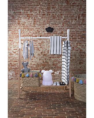 Childhome Appendiabiti per Bambini in Legno di Faggio, 50 x 105 cm Appendiabiti e Grucce