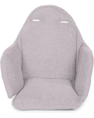 Childhome Cuscino Tricot per Seggiolone Evolutivo Evolu 2 Chair, Grigio Pastello  Sedie