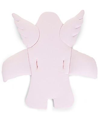 Childhome Cuscino Universale Angelo, Rosa Antico – 100% jersey di cotone Seggioloni