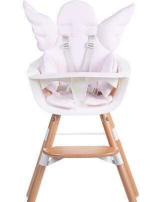 Childhome Cuscino Universale Angelo, Rosa Antico - 100% jersey di cotone Seggioloni