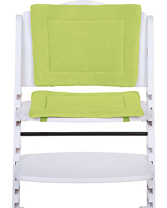 Childhome Cushions Tricot for Evolutive High Chair Lambda 2, Lime – 2-pieces set High Chairs