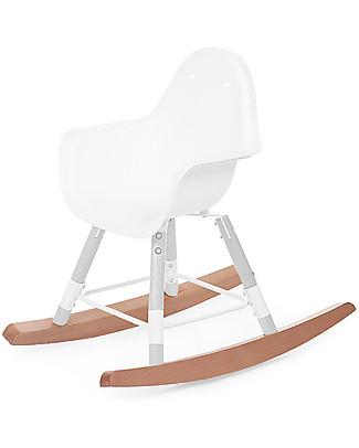Childhome Kit Dondolo per Seggiolone Evolutivo Evolu 2 Chair, Legno Naturale Seggioloni