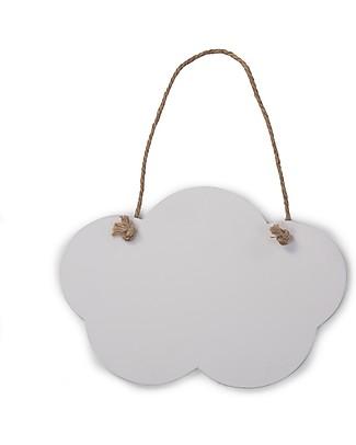 Childhome Lavagnette Nuvola, Set da 2 - Bianca e nera Decorazioni