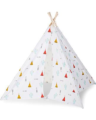 Childhome Tenda Gioco Tipi in Tela - Dreamy Tipi – Con borsa in tela per il trasporto! Tende