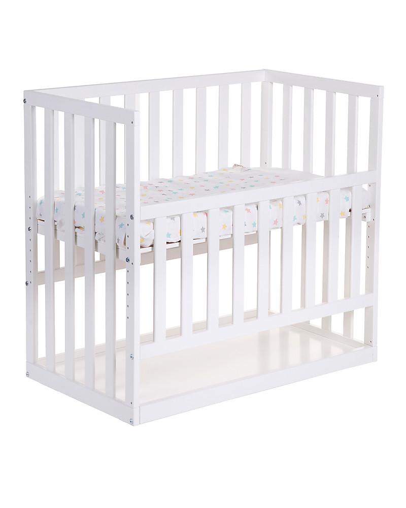 Culla Da Agganciare Al Letto Matrimoniale.Childwood Culla Da Co Sleeping Bedside Con Ruote 90x50 Cm Legno Di