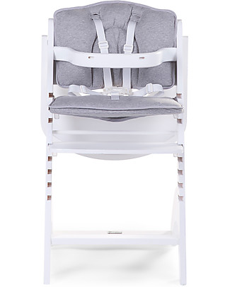 Childwood Cuscino per Seggiolone Evolutivo Lambda 2 e 3, Grigio Chiaro - Set di 2, 100% jersey di cotone Seggioloni