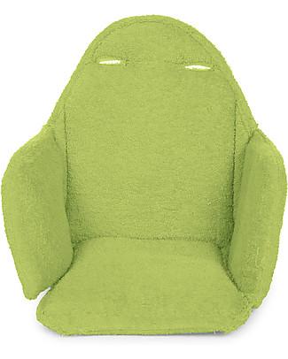 Childwood Cuscino Tricot per Seggiolone Evolutivo Evolu 2 Chair, Lime Seggioloni