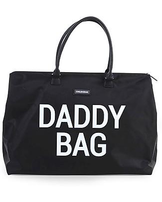 Childwood Daddy Bag, Borsa Fasciatoio 55 x 30 x 30 cm, Nero - Include materassino per il cambio! Borse Cambio e Accessori