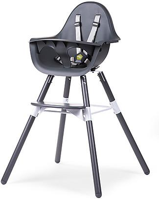 Childwood Evolu 2 Chair Seggiolone Evolutivo e Convertibile - Antracite – Da 6 mesi a 6 anni null