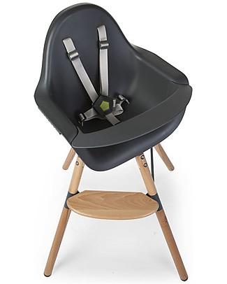 Childwood Evolu ONE.80° Chair, Evolutive High Chair and Kids Chair - Anthracite  – Swivel Seat! High Chairs