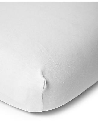 Childwood Lenzuolo con Angoli per Materasso 90x200 cm - Bianco Lenzuola