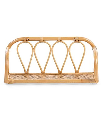 Childwood Mensola in Rattan, Naturale - 53 x 23 x 23 cm Mensole