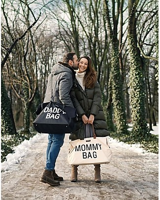 Childwood Mommy Bag, Borsa Fasciatoio 55 x 30 x 30 cm, Avorio - Include materassino per il cambio! Borse Cambio e Accessori