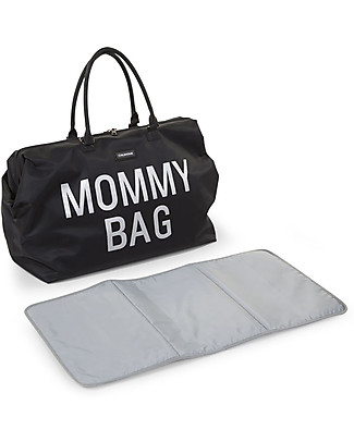 Childwood Mommy Bag, Borsa Fasciatoio 55 x 30 x 30 cm, Nero - Include materassino per il cambio! Borse Cambio e Accessori