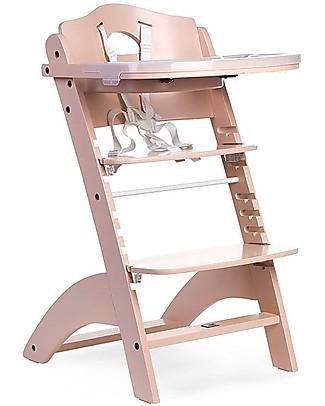 Childwood OUTLET - Seggiolone Evolutivo in Legno Lambda 2, Nude – Diventa sedia normale, fino  a 85Kg! Seggioloni