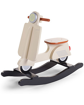 Childwood Rocking Scooter, Cream - Design and fun, from 2 years up! Rides On