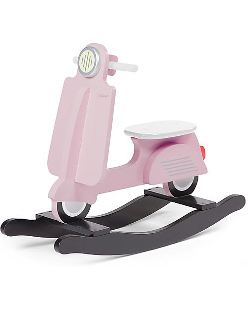 Childwood Vespa Scooter a Dondolo, Rosa - Design e divertimento, da 18 mesi in su! Cavalcabili