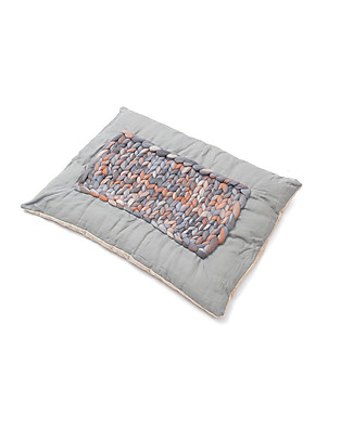 Cocò&Design Tappeto Imbottito Labou, Caffelatte - 80×60x20 cm - Bambù, lino e lana null