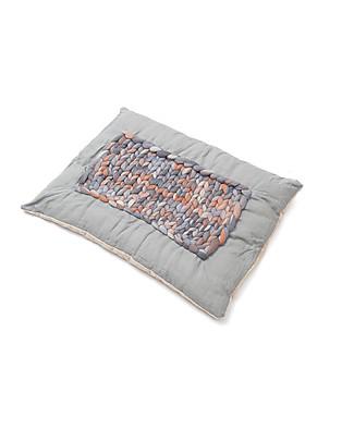 Cocò&Design Tappeto Imbottito Labou, Caffelatte - 80×60x20 cm - Bambù, lino e lana Tappeti