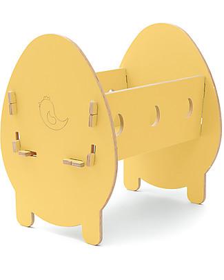 Cocò&Design Culla Bella, Giallo Pera - 75x40x33 cm - Legno di pioppo null