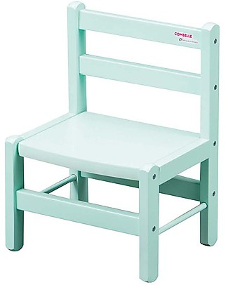 Combelle Beech Wood Kid's Low Chair, Mint - Super easy to assemble Chairs
