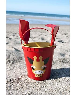 Coq en Pâte Set Giochi da Spiaggia - Giraffa, Rosso - 100% Algoblend® (alghe marine brune) Giochi Da Spiaggia