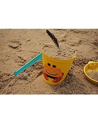 Coq en Pâte Set Giochi da Spiaggia - Granchio Giallo - 100% Algoblend® (alghe marine brune) Giochi Da Spiaggia