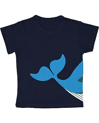 Coq en Pâte T-Shirt Balena, Blu - 100% Cotone Bio T-Shirt e Canotte