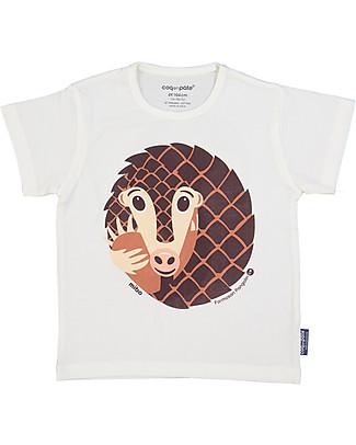Coq en Pâte T-Shirt Formichiere, Bianco - 100% Cotone Bio T-Shirt e Canotte